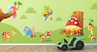 Wall Stickers for Children, Fairies and Elves